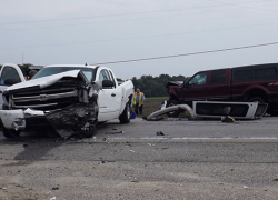 Four injured in multi-car accident