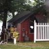 Fire burns house at Maston Lake