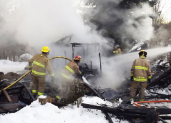 Family loses meat, supplies in fire