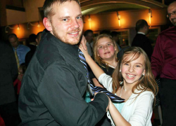 Daddy daughter dance a big hit