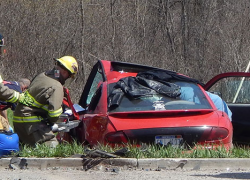 Accident sends one to hospital