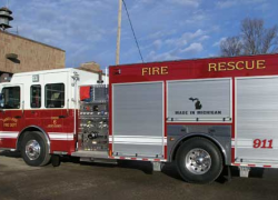 Sand Lake gets new fire truck