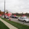Pedestrian dies in accident