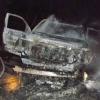 Fiery crash results in arrest