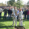 Eagle Scout breaks ground on new pavilion
