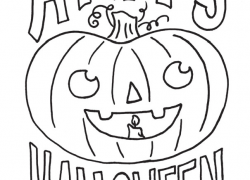 2015 Halloween Coloring Contest