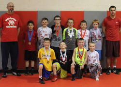 Youth wrestlers finish strong at regionals