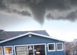 A tornado in Cedar Springs?