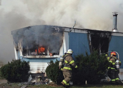 Families lose home in fire