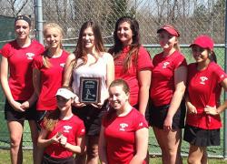 Girls tennis wins Sparta Invite