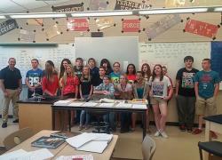 Middle school teacher receives Cool Teacher award
