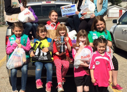 Pantry benefits from Girl Scout food drive