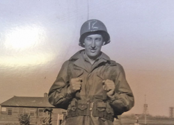 WWII Vet writes home