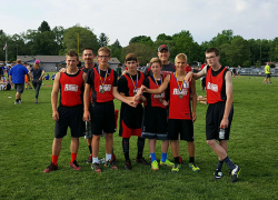 MS boys track team goesundefeated