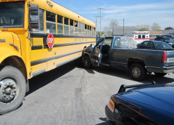 Driver pleads not guilty in bus accident