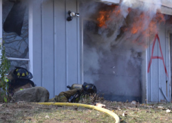 Solon firefighter leads by example