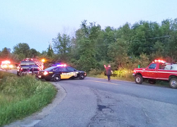Fatal motorcycle crash due to medical condition