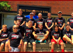 Red Hawk wrestlers experience competition camp