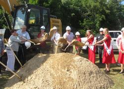 City, Solon celebrates library groundbreaking