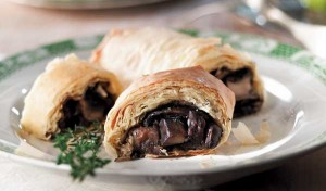 Maple and Portobello Strudel
