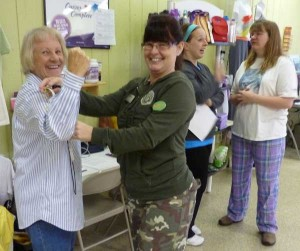 The Biggest Lozer weight-loss fundraiser also earned money toward the library match challenge Saturday.