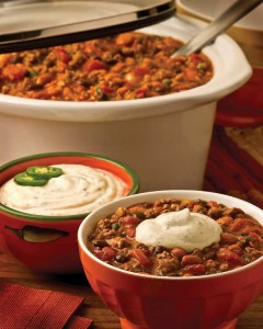 Touchdown Turkey Chili