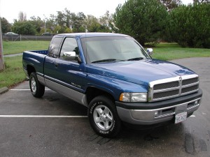 This style of Dodge Ram pickup, made between 1994-2001, was the most stolen vehicle in Michigan in 2011. Photo by Brian Cantoni.