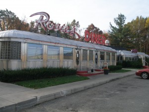 Rosie's Diner closed last October, and is now up for auction.