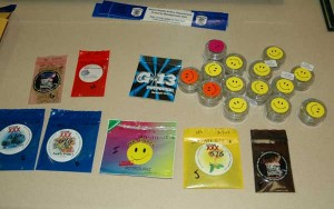These are some of the synthetic marijuana products recently tested by police.