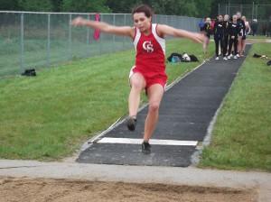 Taylor Vanlangen in long jump