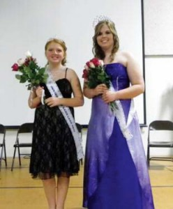 Junior Miss Sand Lake Nicole Masion, and Queen Kristina Nozal.