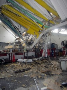 A crane collapse at the Kent County Jail was caused by operator error.