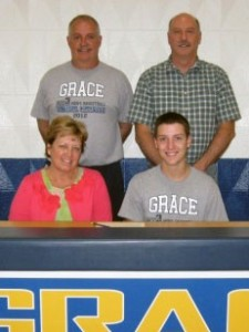 Gingrich signs with Grace Bible College