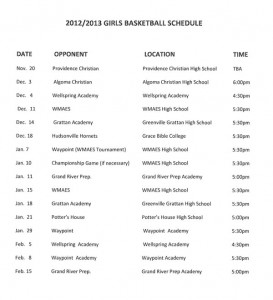 CTA-Girls-Basketball-Schedule