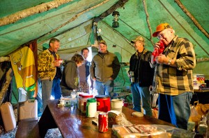 Laughs and good times abound at this multigenerational deer camp in Menominee County, during the 2011 season.