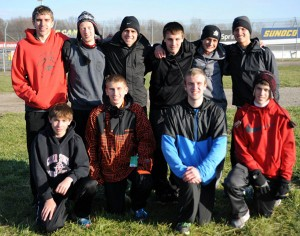 The Red Hawk boys team finished fourth in state in Division 2.