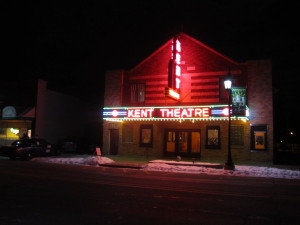 The Kent Theatre was robbed December 29.