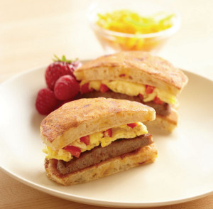 Pancake Breakfast Sandwich
