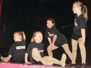 Dancers from Dancing Plus were part of the lineup at the Dance Extravaganza at the Kent Theatre Saturday.