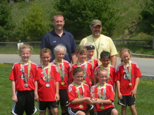 The Cedar Springs Area Select Soccer Association U9 team competed in the Cherry Capital Cup for the first time last weekend and made it to the championship game.
