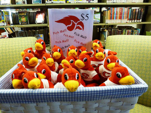 N-Library-fundraiser-Red-Hawk-beanies
