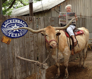 N-Post-in-Texas-Sue-on-Tumbleweed-Post-Luckenbach-TX
