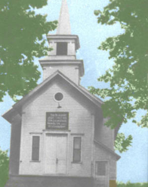 The original Ensley Baptist Church