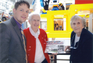 Isabelle Brace and Elizabeth Smith with Isabelle's grandson, Nick Bazzett at the Mall of America