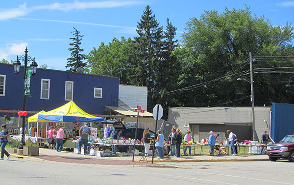 The Cedar Springs Area Chamber of Commerce expects 60-plus vendors at this year's Community Celebration Day Saturday. Last year's event drew about half that. Post photo by J. Reed.