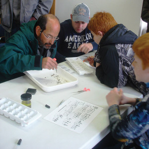 These volunteers helped with the spring insect monitoring. Volunteers are needed again for the fall insect monitoring event.