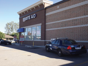 Rite Aid was robbed on Friday, September 13.