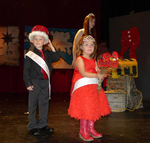2013 Prince & Princess, Deagan Pike and Grace Middlebrook. Photo courtesy of the Red Flannel Festival.