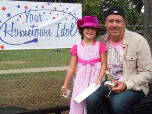 Cloie and Bruce  Bennett, winners of the Howard City Hometown Idol, will be performing at the Red Flannel Day Talent Show this Saturday.