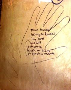 rachels hand